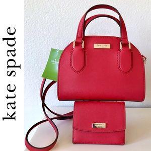 NWT Kate Spade Micro Reiley Crossbody & Wallet Set